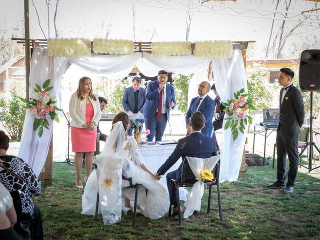 El matrimonio de Josué y Kathia en Curacaví, Melipilla 44