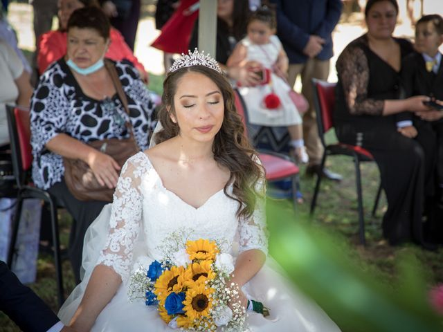 El matrimonio de Josué y Kathia en Curacaví, Melipilla 47