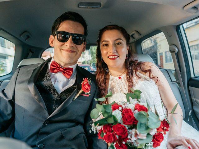El matrimonio de Cristina y Javier