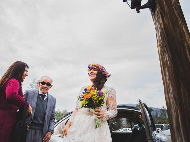 El matrimonio de Felipe y Nidia en Pirque, Cordillera 4