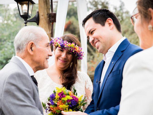 El matrimonio de Felipe y Nidia en Pirque, Cordillera 8