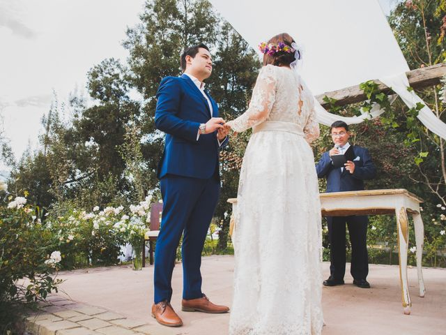 El matrimonio de Felipe y Nidia en Pirque, Cordillera 10