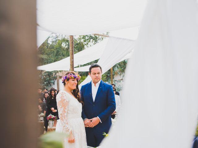 El matrimonio de Felipe y Nidia en Pirque, Cordillera 12