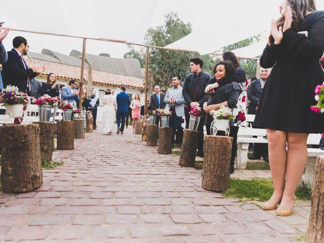 El matrimonio de Felipe y Nidia en Pirque, Cordillera 14