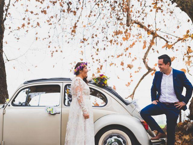 El matrimonio de Felipe y Nidia en Pirque, Cordillera 16