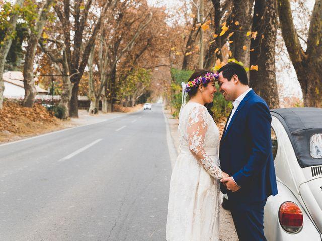 El matrimonio de Felipe y Nidia en Pirque, Cordillera 17