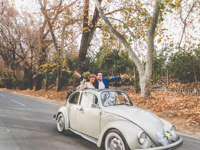 El matrimonio de Felipe y Nidia en Pirque, Cordillera 18