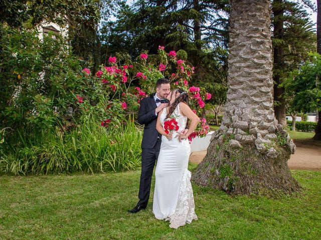 El matrimonio de Lissete y Osvaldo