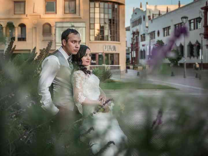 El matrimonio de Andrea y Francisco