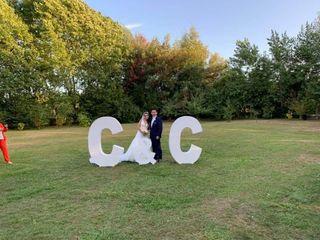 El matrimonio de Cristián y Charlotte
