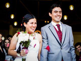 El matrimonio de Alejandra y Cristofer