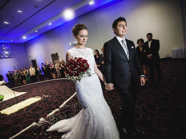 El matrimonio de Alena y Raúl