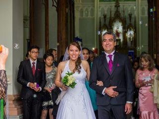 El matrimonio de Jessica y Alejandro