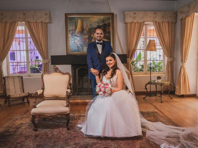 El matrimonio de Atenea y Sebastián