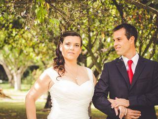 El matrimonio de Peca y Julio 1
