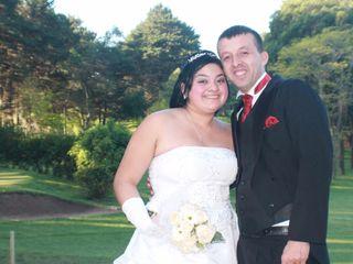 El matrimonio de María José y Ángel David