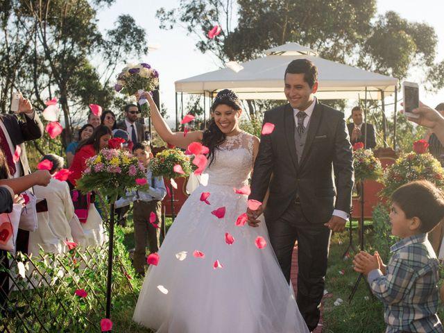 El matrimonio de Catalina y Álvaro