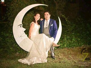 El matrimonio de Gabriela y César