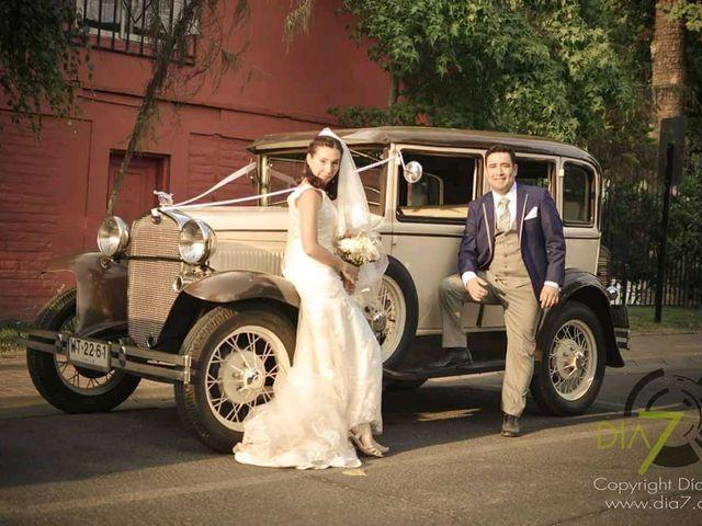 El matrimonio de César y Gabriela en Pirque, Cordillera 12