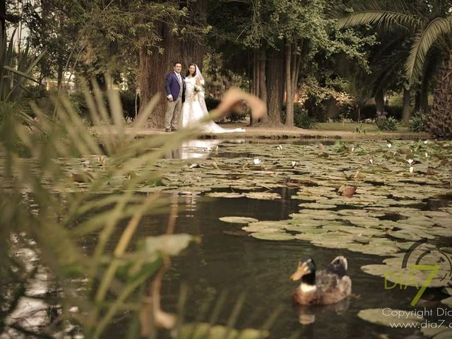 El matrimonio de César y Gabriela en Pirque, Cordillera 14