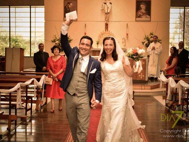 El matrimonio de César y Gabriela en Pirque, Cordillera 16