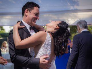 El matrimonio de Macarena y Armando