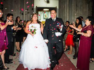 El matrimonio de Vanesa y Alejandro