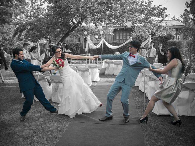 El matrimonio de Kari y Javier