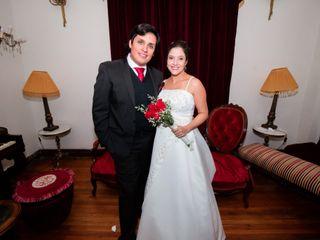El matrimonio de Gissela y Constantino