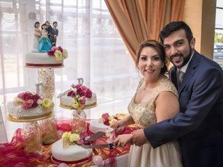 El matrimonio de Rosa y Daniel
