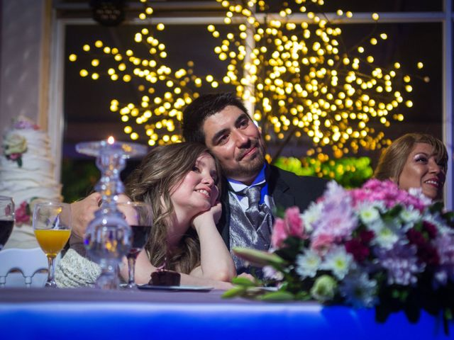El matrimonio de Daniela y Bastian
