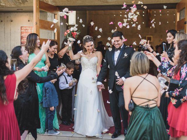 El matrimonio de Claudia y Juan Andrés