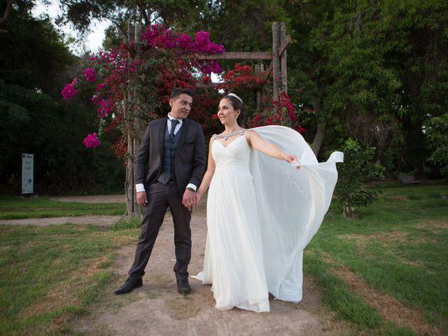 El matrimonio de Fernando y Paulina
