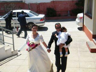 El matrimonio de Verónica y Juan Domingo