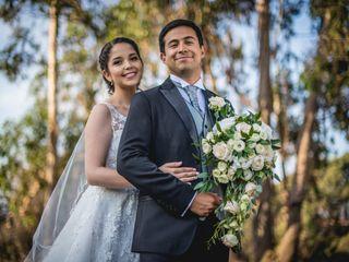 El matrimonio de Vale y Carlos