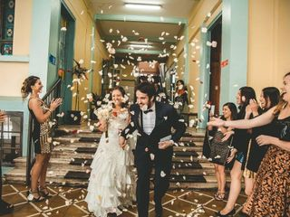 El matrimonio de Arlette  y Camilo