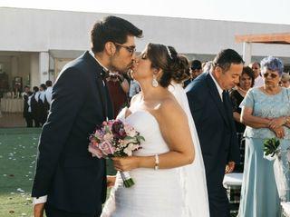 El matrimonio de Gyppsy y José 2