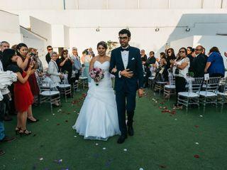 El matrimonio de Gyppsy y José