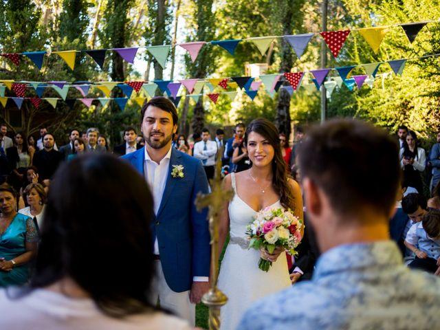 El matrimonio de Dominique y Ignacio