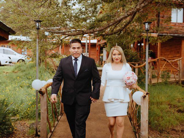 El matrimonio de Fernanda y Iván