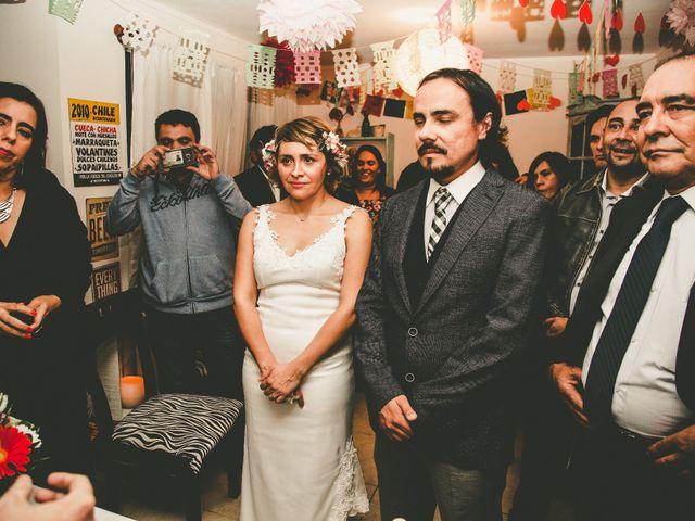 El matrimonio de Miguel y Soledad en Colina, Chacabuco 12