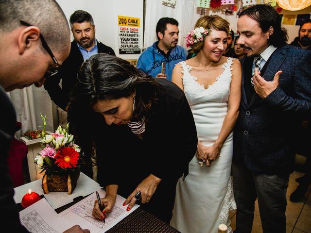 El matrimonio de Miguel y Soledad en Colina, Chacabuco 13