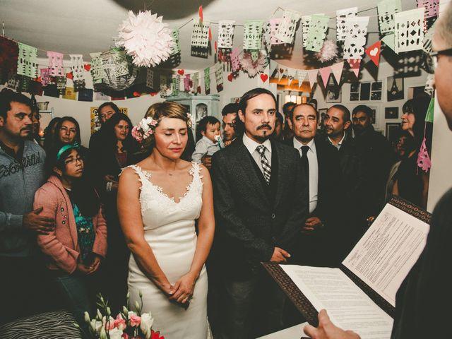 El matrimonio de Miguel y Soledad en Colina, Chacabuco 14