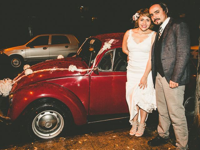 El matrimonio de Soledad y Miguel