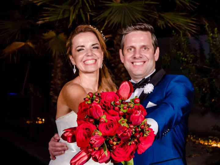 El matrimonio de Giselle y Berman