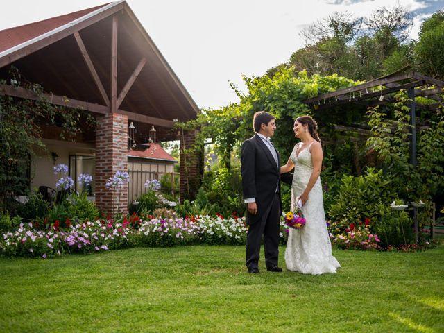 El matrimonio de Alejandra y Cristian