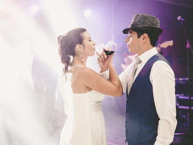 El matrimonio de Rayén y José