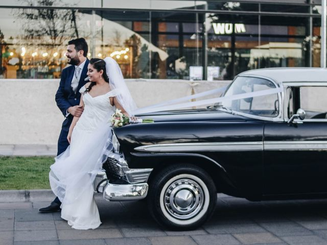 El matrimonio de Pablo y Paula en Santiago, Santiago 16