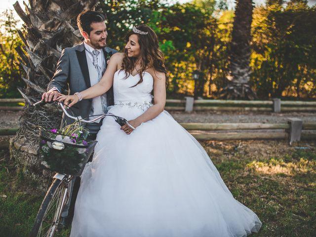 El matrimonio de Lore y Daniel