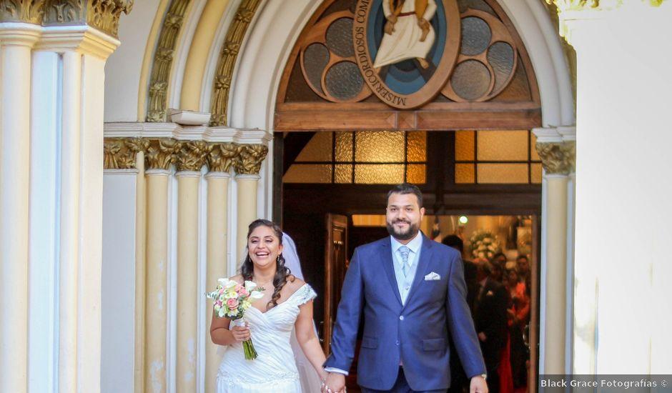 El matrimonio de Pablo y Paula en Santiago, Santiago